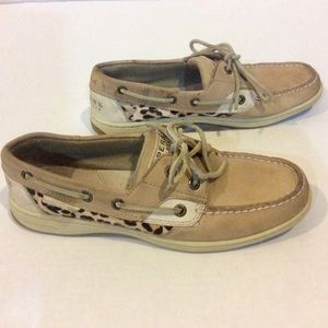 Sperry Topsiders - Bluefish 2 Eye Animal Print!
